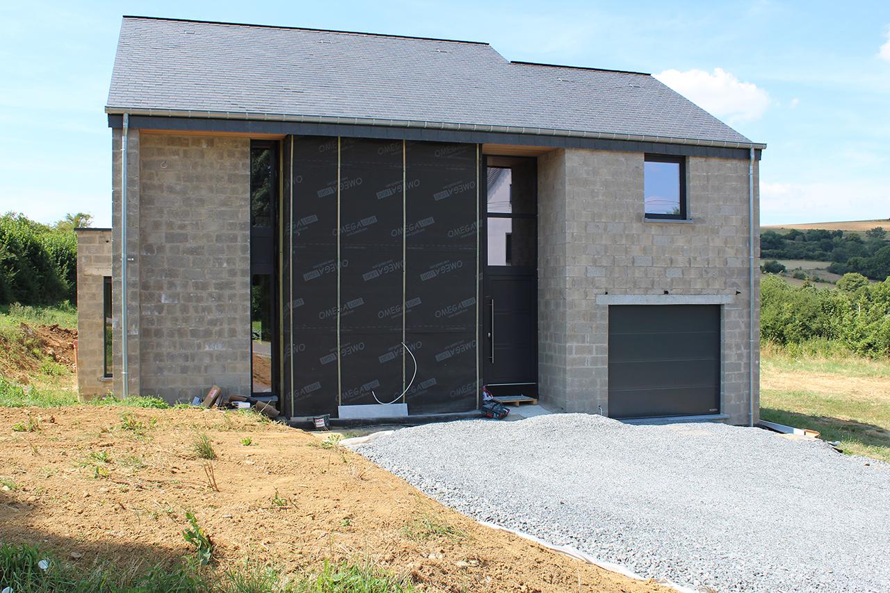 maison 4 façades Couvreux